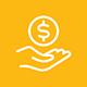 Earn regular dividends in USD